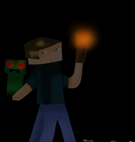 Request for jacobmalins1 : MineCraft one ^^ by DarkTheAngelHedgehog