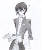 Lelouch Lamperouge by SweetIrrelevance