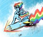 Rainbow Missile by Coin-Trip39