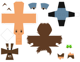 Papercraft pattern - NewMexico by porcelian-doll