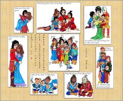 Firelord Family Scrapbook by bluemoon-alice