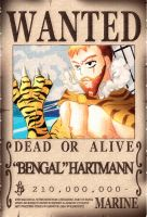 Wanted Poster Request OC Bengal Hartmann by KisaSwan