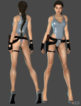 Lara Sexy Batchingsuit WIP by ZayrCroft