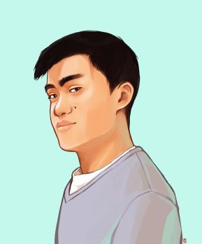 Portrait - Young Man#2 by oOCherry-chanOo