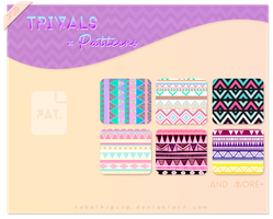 Trivals Patterns by silly-luv