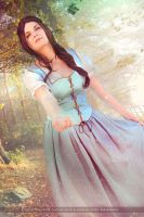 Belle - Once Upon a Time by IrethMinllatur