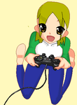 Gamer Girl by Mabs4Sale