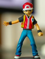 Pokemon Red Figure by paul375