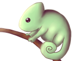 Chameleon by SquidPup