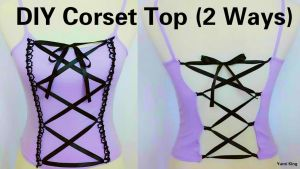 DIY Corset Top(2 Ways) by YumiKing