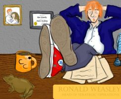 Ron the Auror by StuckInThe90s