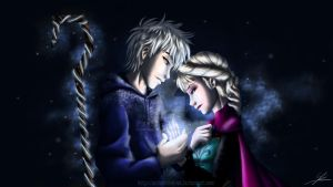 Jack and Elsa : Frozen Prison by AndarielleHime