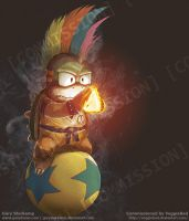 Lemmy Koopa - Commission by GaryStorkamp