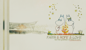 Faith, hope and love by ladyironia