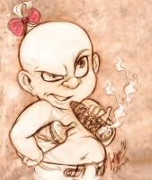 Baby Herman by MistyTang