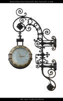 Fancy Clock Cut Out by ManicHysteriaStock