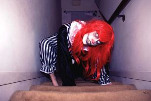 Crawling Clown by KaaoticKatie