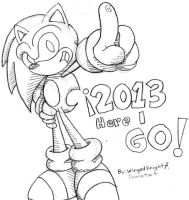 Sonic 2013 by WingedKnight7