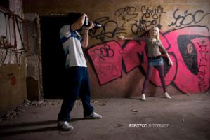 me in action:D by rrobitzoo