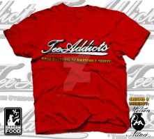 Tee-Addicts Original Logo Tee by motion-attack