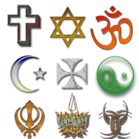religious symbols by supostabme