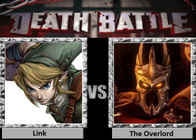 Death Battle Link vs the Overlord by Professor-Sponge