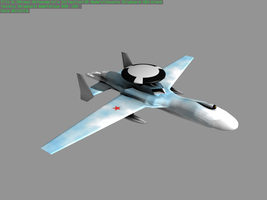Yevonia Shipboard AEW UAV by Stealthflanker