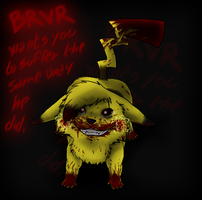BRVR Wants You To Suffer... by OkamiWhitewings