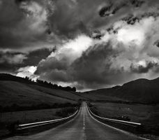 Mountain road by nunosakra
