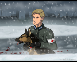 BlueHunter commission by Arukardis