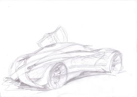 G D Coupe concept nr. 2 by grote-design