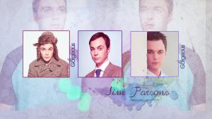 Jim Parsons wallpaper 15 by HappinessIsMusic