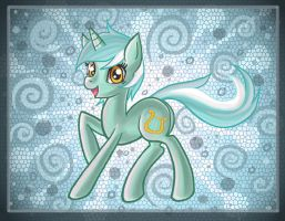 Lyra pony by raptor007