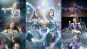 Yuna and Lenne by AuraIan