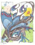 Faerie dragon, colored by YamiGriffin