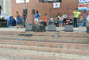Puerto Rican/Latin Festival, Hoopla On Stage 2 by Miss-Tbones