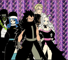 Fairy Tail team B by UltearMilkovich