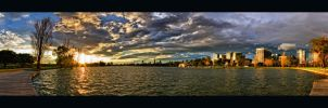 Albert Park Pano by WiDoWm4k3r