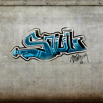 Practice graffiti with tablet by Nathanart91