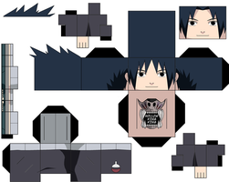 Sasuke Young by hollowkingking