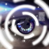 Futuristic Eye by TheossFX