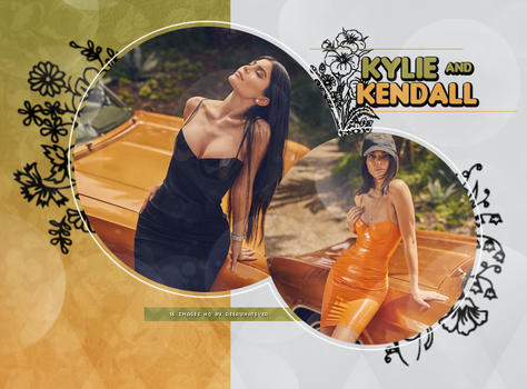 //PHOTOPACK 451 - KYLIE AND KENDALL JENNER// by BIRDY-PHOTOPACKS