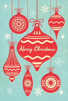 Mid-Century Christmas Card Kit by ottoson