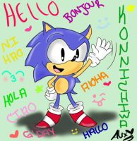 Sonic Says... by chibiirose