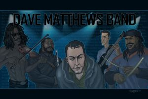 Dave Matthews Band by RC-draws