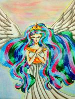 princess celestia by Sabrinapaul22