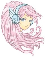 Angelic Headset avatar art by sonialeong