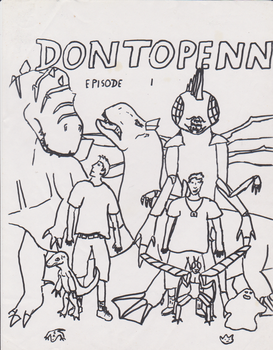 Dontopenn Poster by HewyToonmore