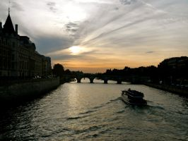 Parisian Sunset by volpe60610