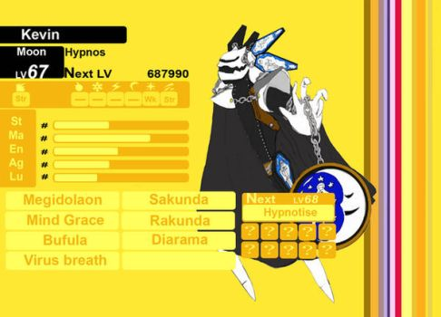 Hypnos persona4 status by 456kn